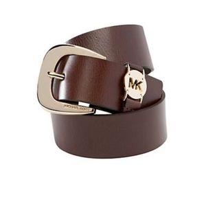 NWT Michael Kors Leather Belt